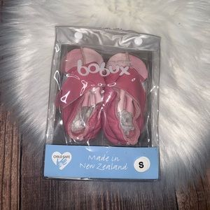 Bobux s pink first steps shoes